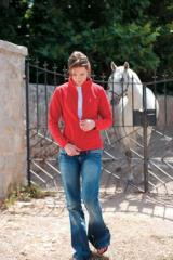 Ladies Fitted Micro Jacket