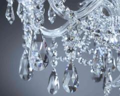 Полилеи с кристални висулки