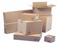 Boxes made of double-face corrugated board