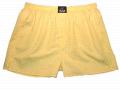 Pánské trenýrky Žlutá kostka drobná