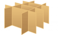 Molded cardboard products