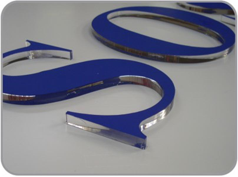 Order Production and installation of advertising signboards, indexes, plates