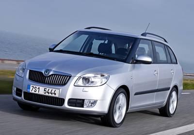 Objednávka Půjčování, nájem automobilů bez řidiče Škoda Fabia Combi 1.2