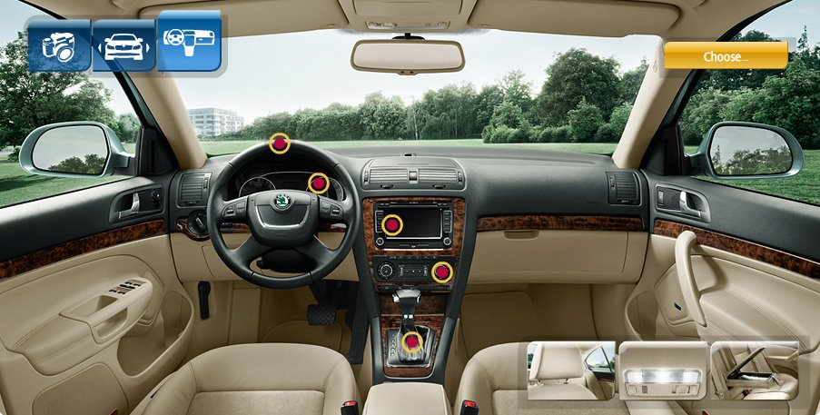 Objednávka Pronájem Škoda Octavia II Elegance 2.0 TDI PD