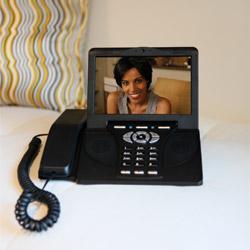 Objednávka Videotelefony s voláním v rámci paušálu 260 Kč na pevné a videotelefonní linky prakticky celého světa.