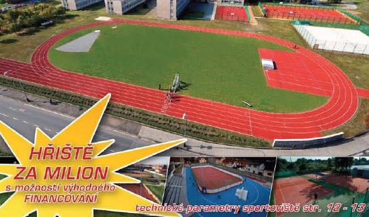 Objednávka Výstavba sportovišť