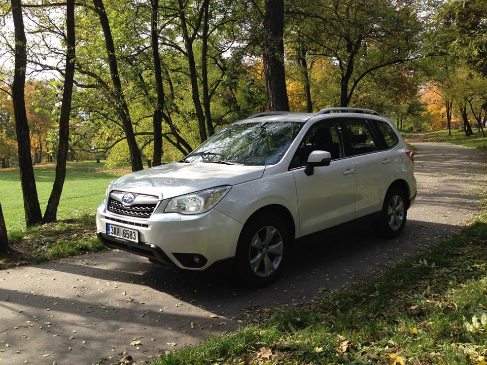 Objednávka Rent a Subaru Forester in Prague