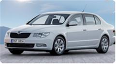 Půjčování automobilů denně Škoda Superb NEW 2,0