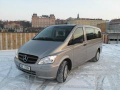 Rent minivan Mercedes Benz Vito in Prague